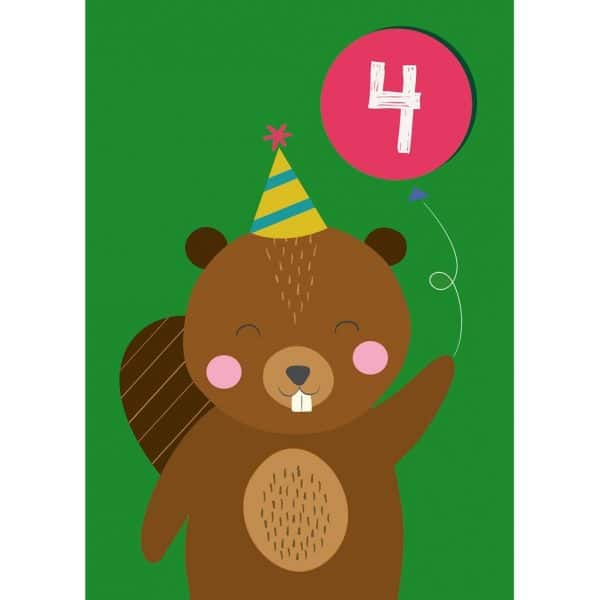 party-beaver-large-card-27617