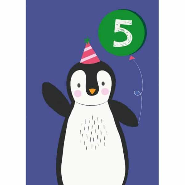 party-penguin-large-card-27618