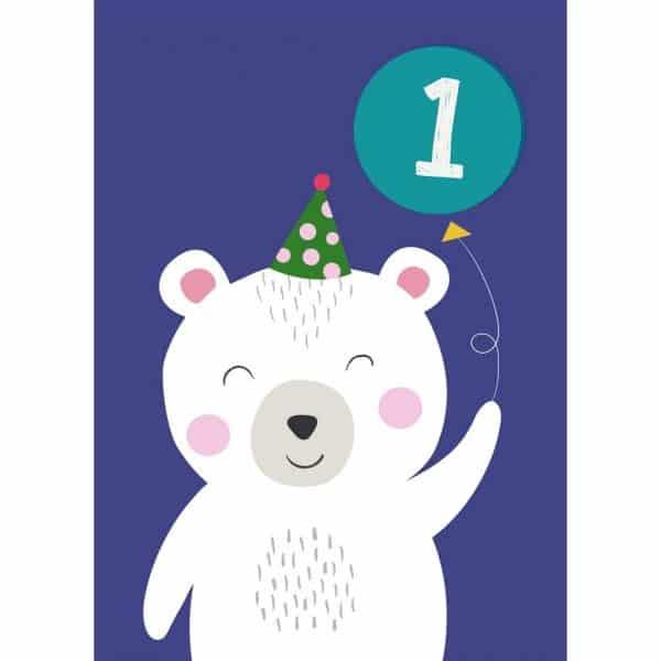 party-polay-bear-card-27614