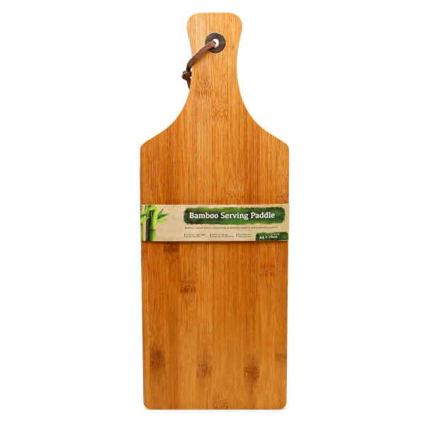 bamboo serving paddle UBL
