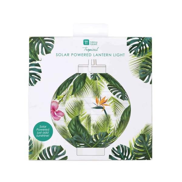 fiesta palm leaf lantern