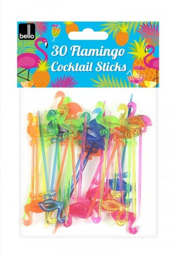 flamingo coktail sticks