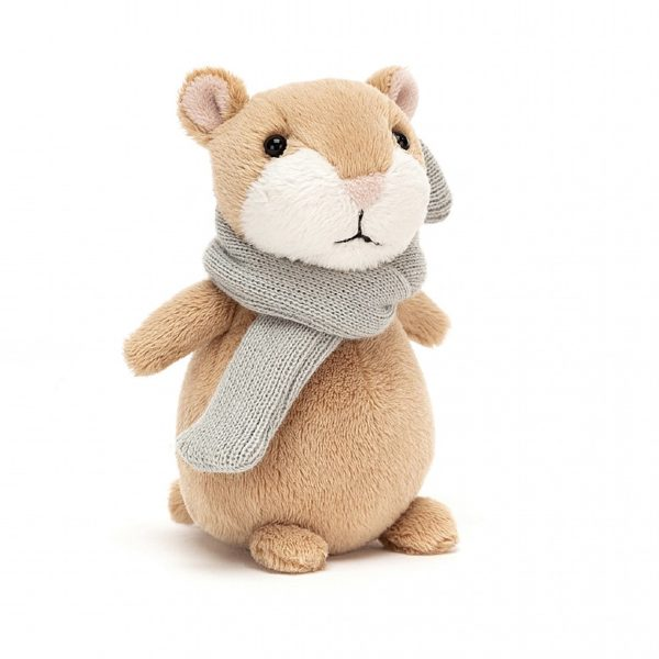 happy cinnamon hamster jellycat
