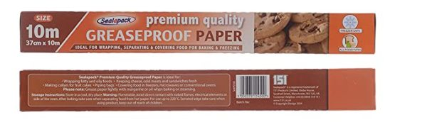 sealapack greaseproof paper