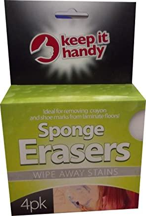 sponge erasers 4pk