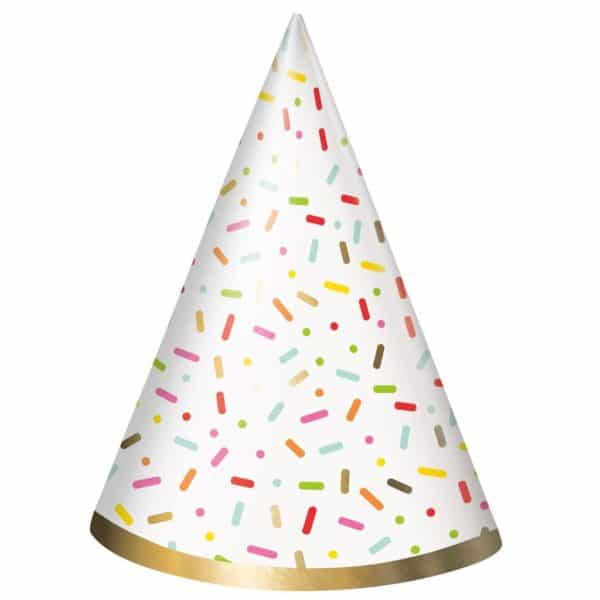 sprinkles party hat unique